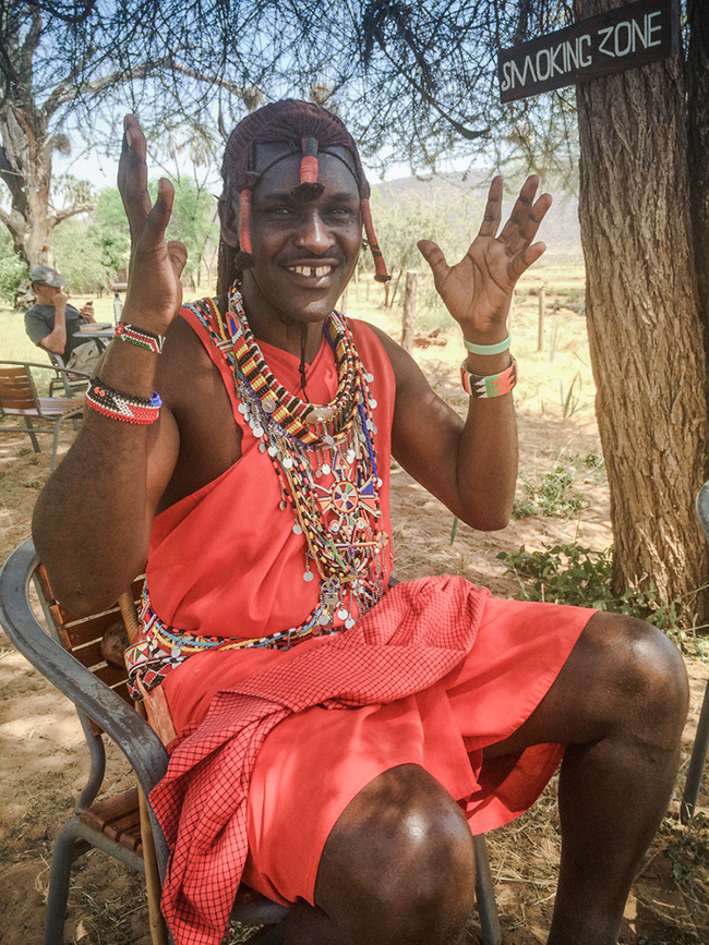 Learning Life's Lessons in the Kenyan Bush